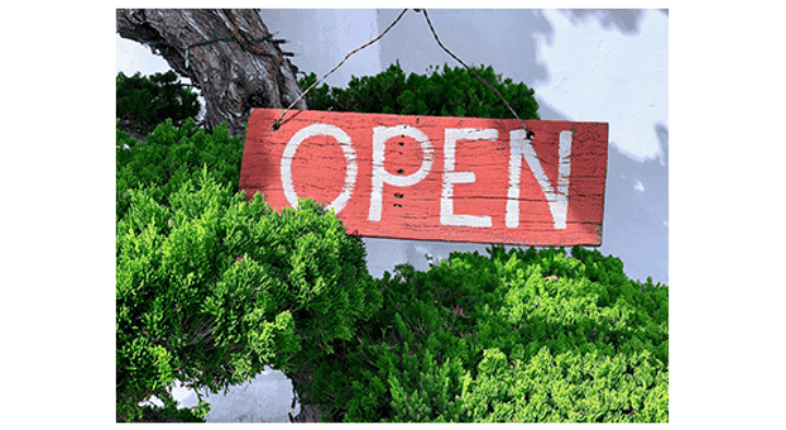 Artikel Winkel Open